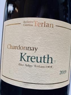 Kellerei Terlan, Chardonnay Kreuth 2019