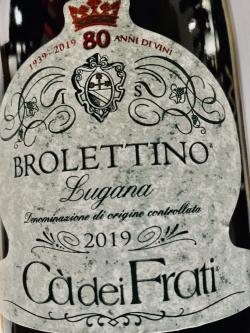 Ca dei Frati, Brolettino 2019