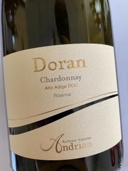 Kellerei Andrian, Chardonnay Riserva Doran 2018