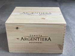 Argentiera Rosso Bolgheri Superiore DOC 2018, 6er OHK