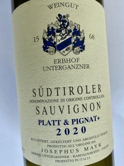 Josephus Mayr Sauvignon Platt & Pignat 2020